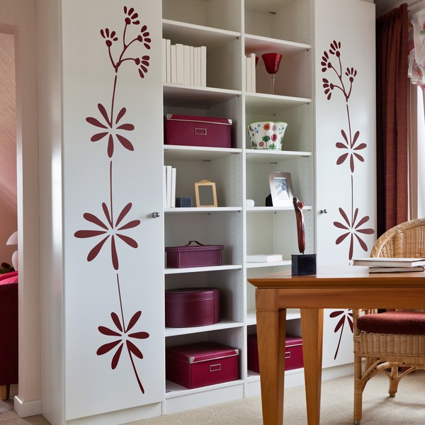 Wall Stickers: Floral 348
