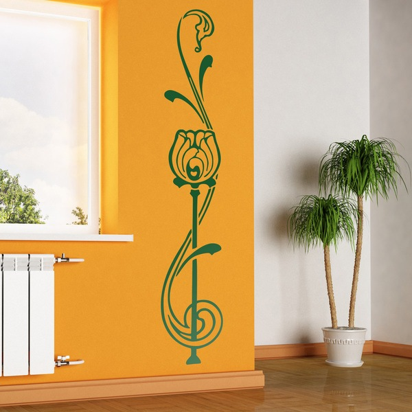 Wall Stickers: Floral Seshat