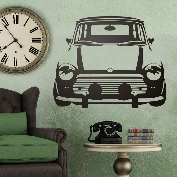 Wall Stickers: Auto Mini Cooper