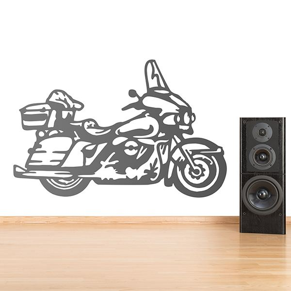 Wall Stickers: Road motorcycle