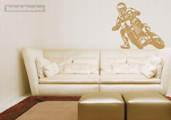 mur05 Sticker wall motocross ref