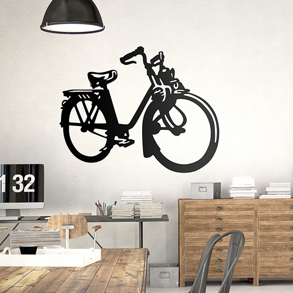 Wall Stickers: Electric bicycle