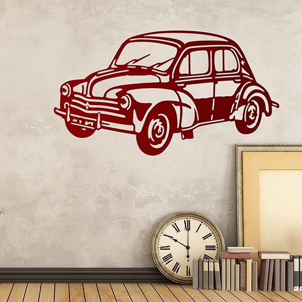 Wall Stickers: Renault 4x4
