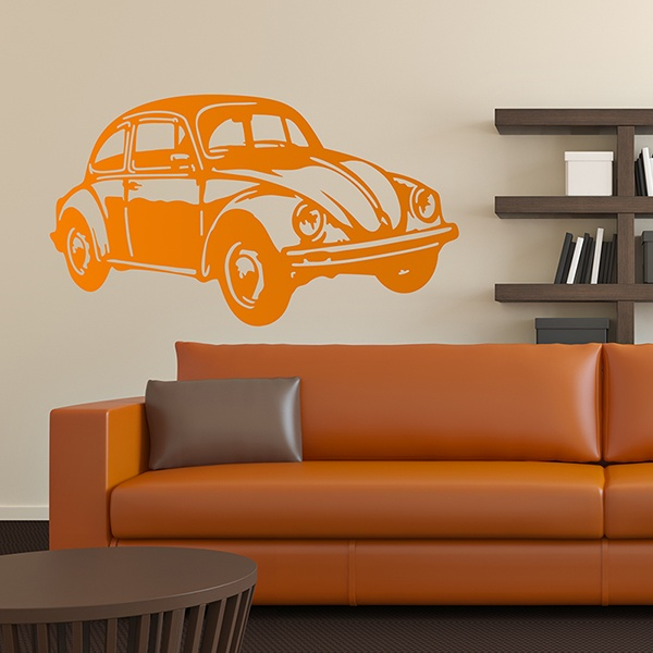 Wall Stickers: VW Beetle