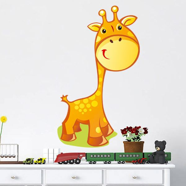 Stickers for Kids: Giraffe Breeding
