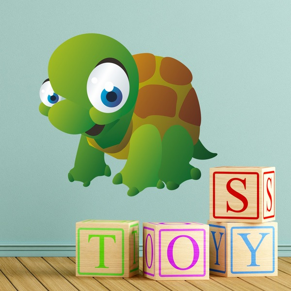 Stickers for Kids: Infant Turtle