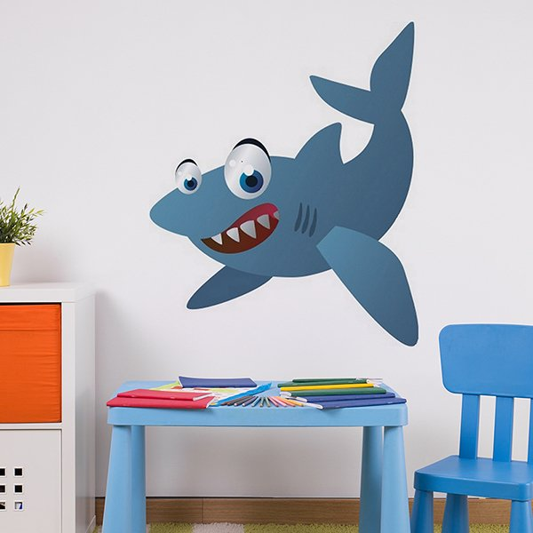 Stickers for Kids: Shark
