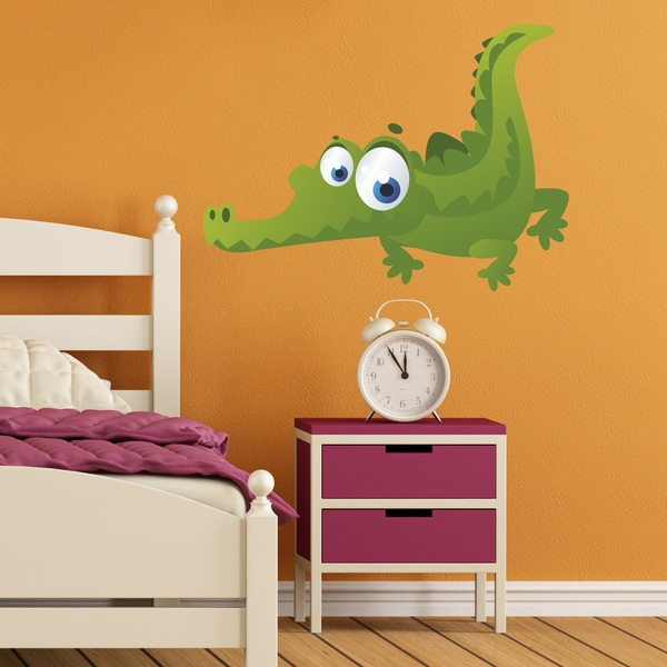 Stickers for Kids: Children's crocodile