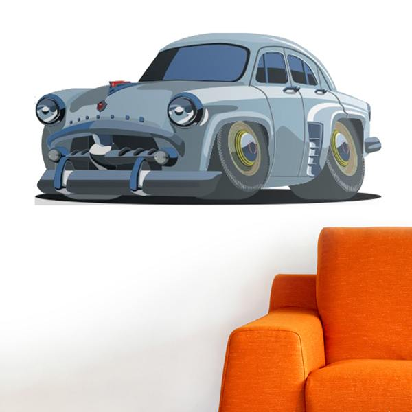 Stickers for Kids: Classic car tuned