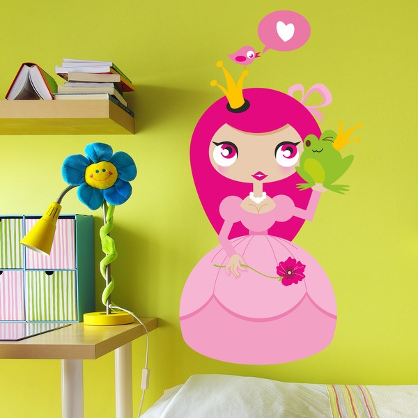 Stickers for Kids: Princess
