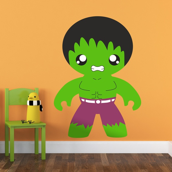Stickers for Kids: Hulk child