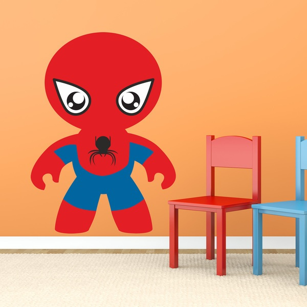 Stickers for Kids: Tarantula Man
