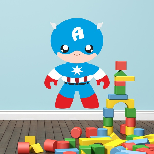Stickers for Kids: Captain America child
