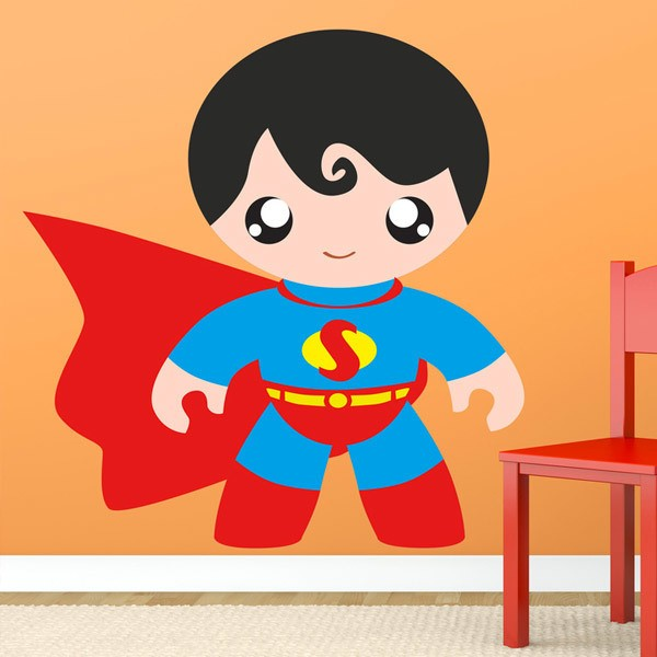 Stickers for Kids: Superman child
