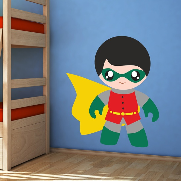 Stickers for Kids: Robin Child