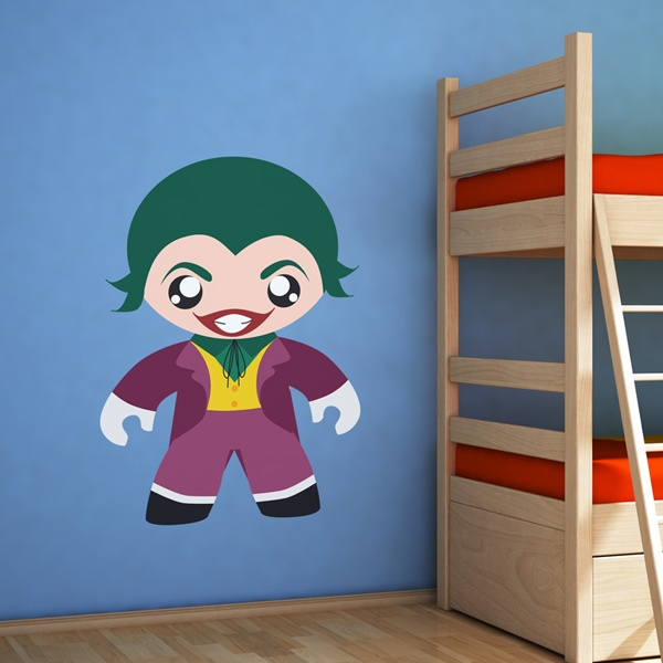 Stickers for Kids: The Joker child