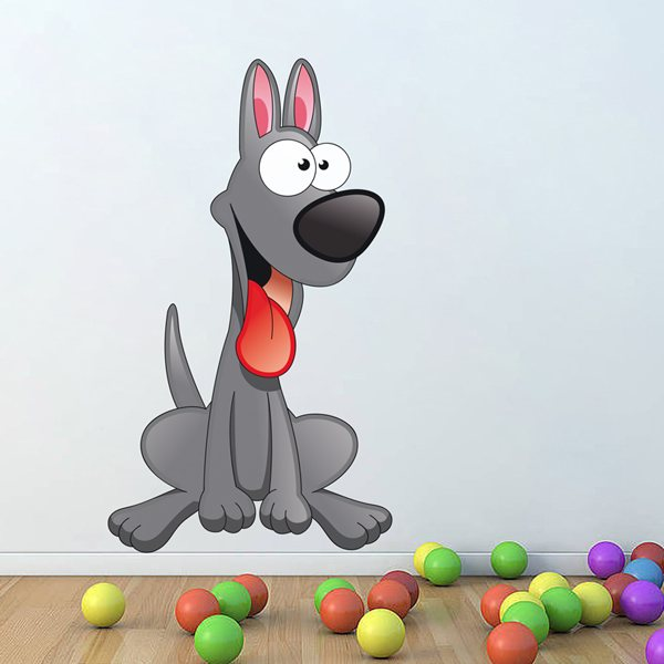 Stickers for Kids: Doberman's puppy
