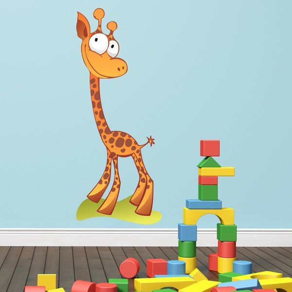Stickers for Kids: Happy giraffe