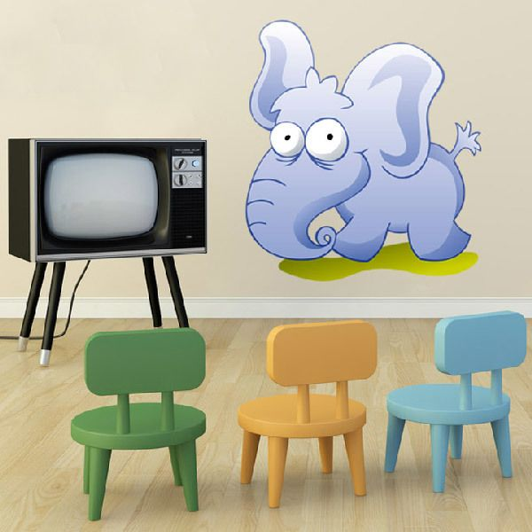 Stickers for Kids: Young elephant