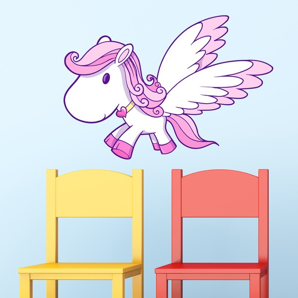 Stickers for Kids: Little Pegasus
