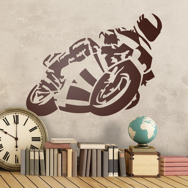 Wall Stickers: moto5