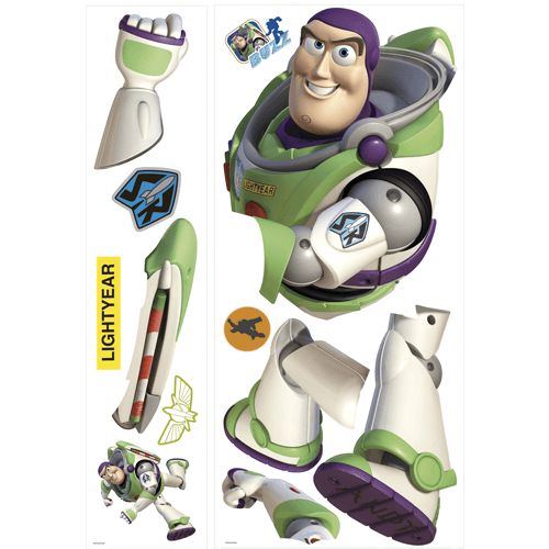 Stickers for Kids: Great Buzz Lightyear