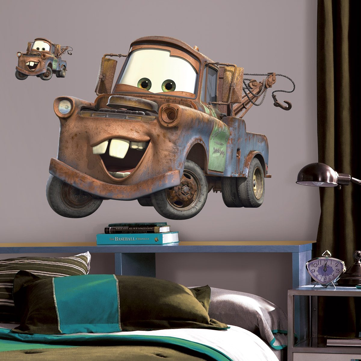 Giant Mater Wall Sticker - Cars