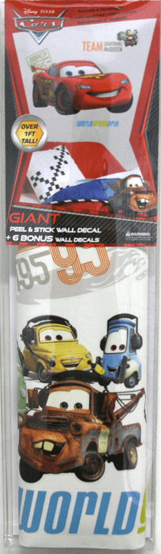 giant lightning mcqueen wall stickers amazon com roommates rmk1508gm mickey mouse peel and