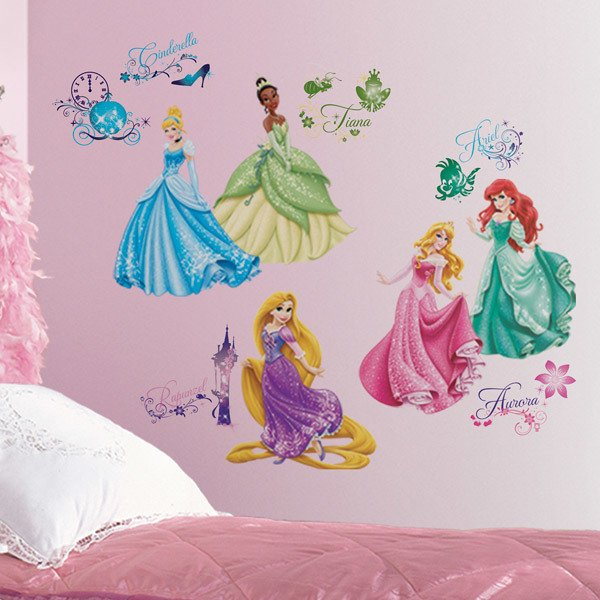 Stickers for Kids: Disney Princess Royal Debut Wall Stickers