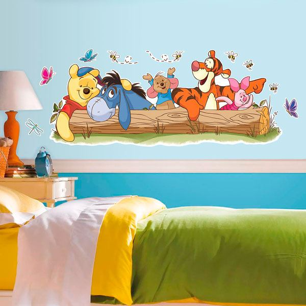 Stickers for Kids: Winnie the Pooh and her friends