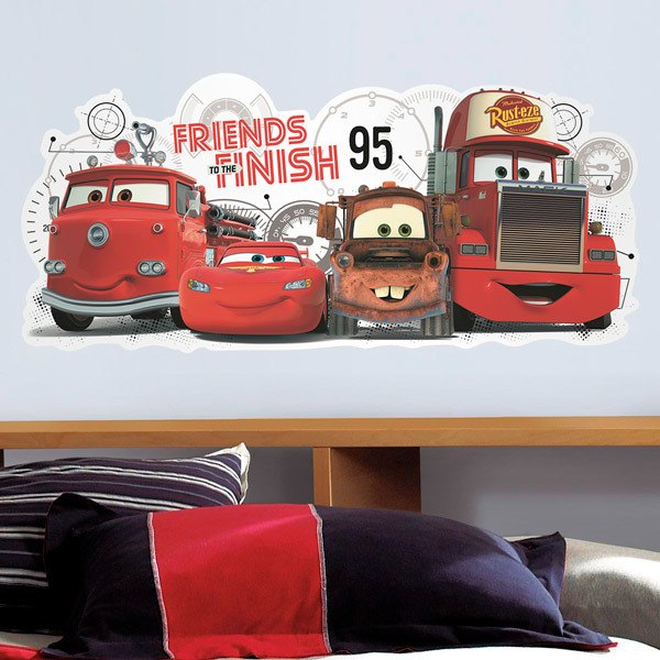 Stickers for Kids: Disney Cars, Friends to The Finish