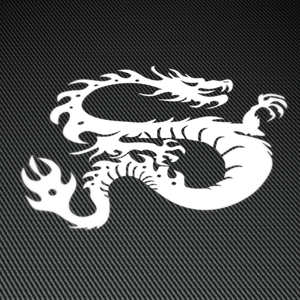 Car & Motorbike Stickers: Dragon MK 2
