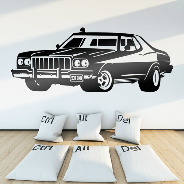 Wall Stickers: Ford Torino Starsky and Hutch