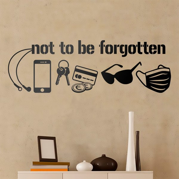 Wall Stickers: Catching before you leave home