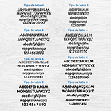 Car & Motorbike Stickers: Kit Labels Customized 3