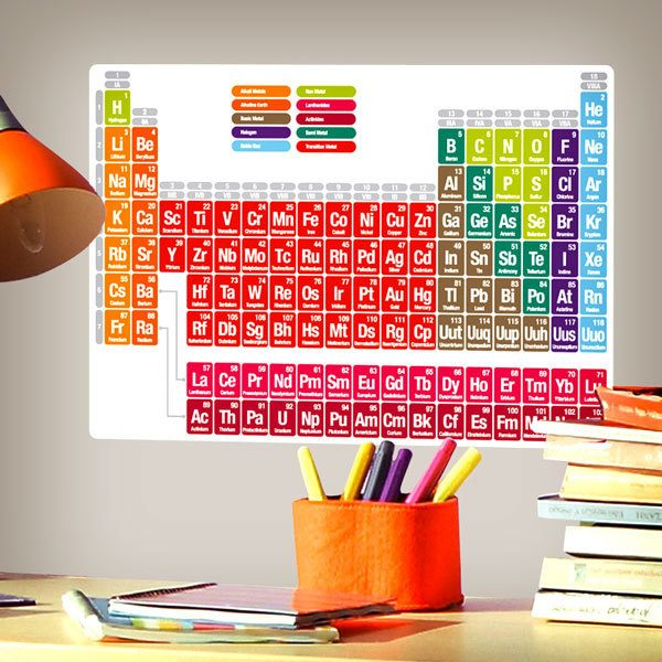 Wall Stickers: Periodic table