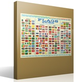 Wall Stickers: Flags of the World 4