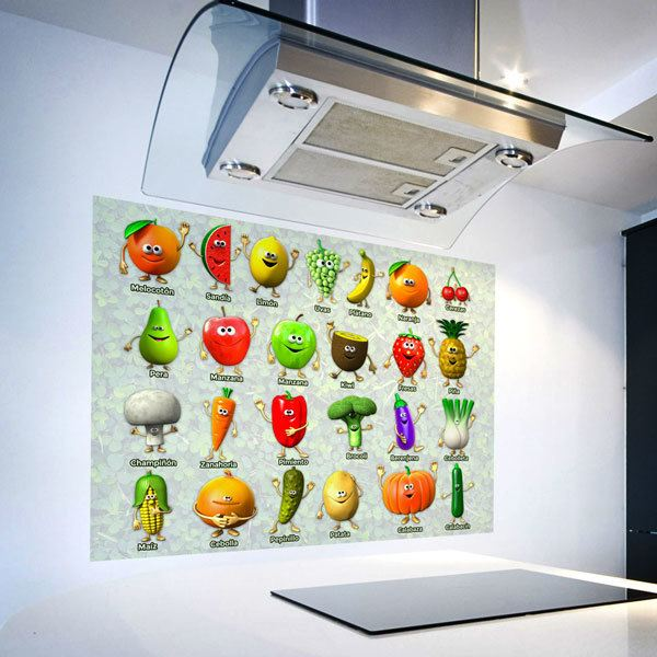 Wall Stickers: Fruits and vegetables