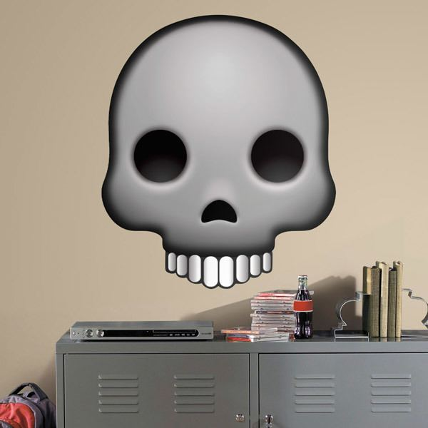 Wall Stickers: Human skull