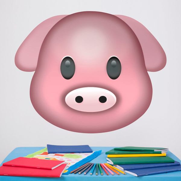 Wall Stickers: Pig Face