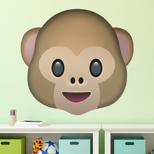 Wall Stickers: Monkey Face