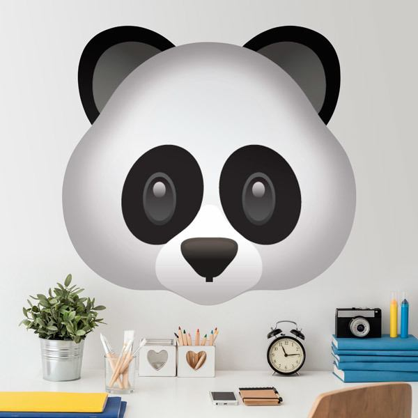 Wall Stickers: Panda Face