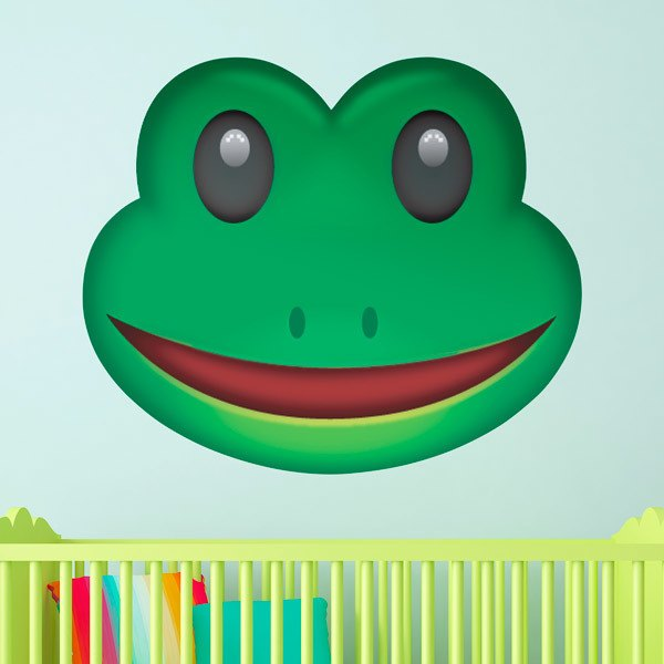 Wall Stickers: Frog Face