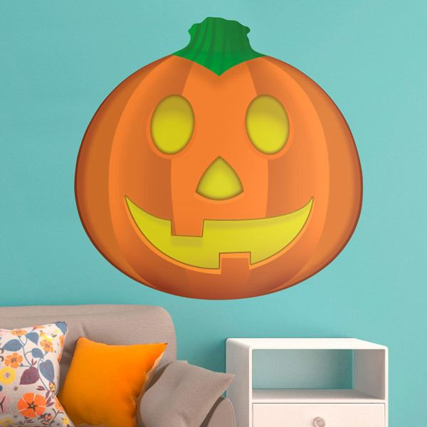 Wall Stickers: Jack-O-Lantern