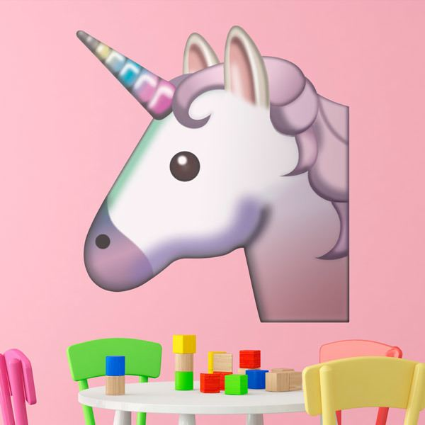 Wall Stickers: Unicorn Face