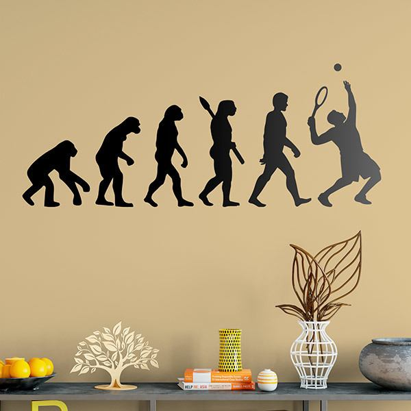 Wall Stickers: Tennis Evolution