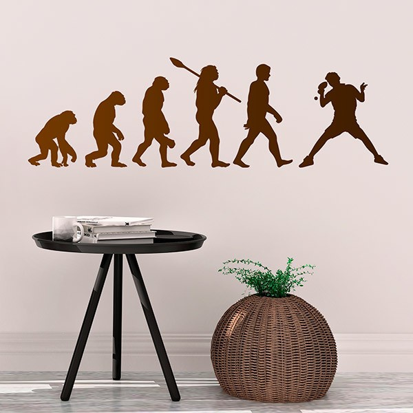 Wall Stickers: Ping Pong evolution