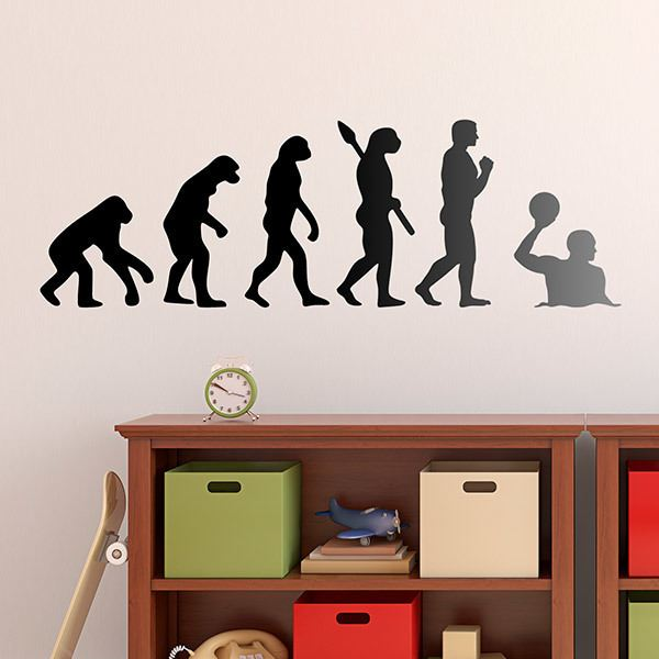 Wall Stickers: Waterpolo evolution