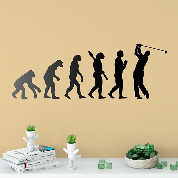 Wall Stickers: Golf evolution