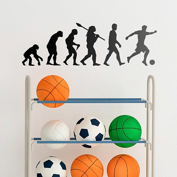 Wall Stickers: Football evolution